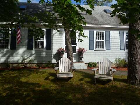 Front view of the home - 22 Happy Way Harwich Cape Cod New England Vacation Rentals