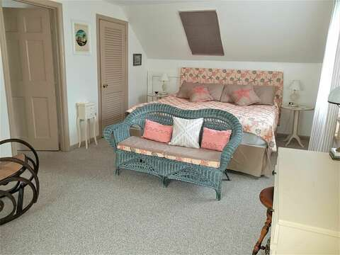 Upstairs, Bedroom #2 with a King bed - 22 Happy Way Harwich Cape Cod New England Vacation Rentals