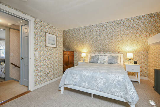 Main Part of home-Bedroom 1 with a Queen bed - 54 Hiawatha Road Harwich Port Cape Cod New England Vacation Rentals
