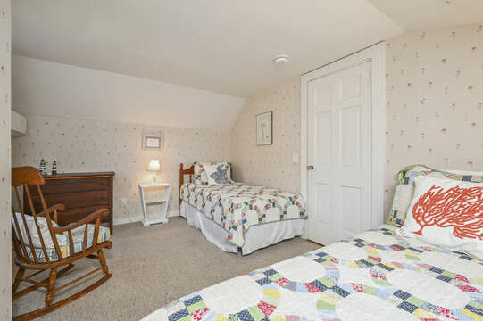 Main Part of Home-Bedroom 2 with 2 twins - 54 Hiawatha Road Harwich Port Cape Cod New England Vacation Rentals