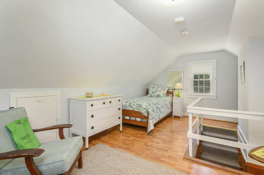Through Garage upstairs-Bedroom 4 with 1 Double and 2 Twins - 54 Hiawatha Road Harwich Port Cape Cod New England Vacation Rentals