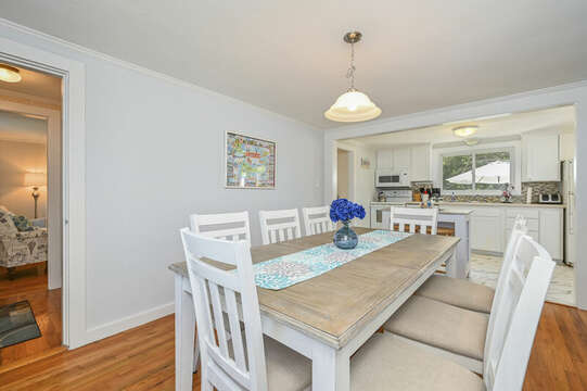 Brand New Dining room at-54 Hiawatha Road Harwich Port Cape Cod New England Vacation Rentals