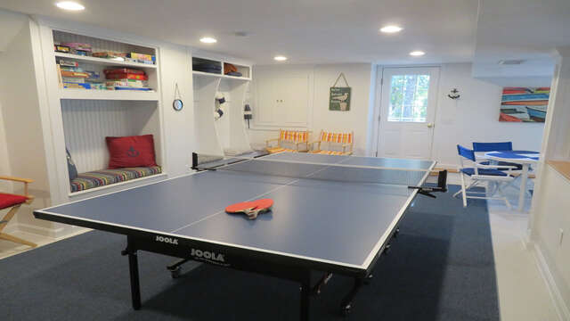 Game time! 138 Soundview Avenue Chatham Cape Cod New England Vacation Rentals