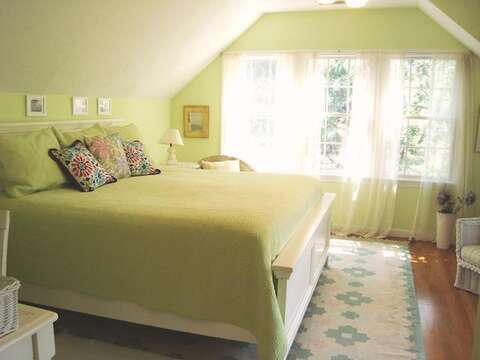 2nd Floor Master suite Bedroom #4 with King Bed - 138 Soundview Avenue Chatham Cape Cod New England Vacation Rentals