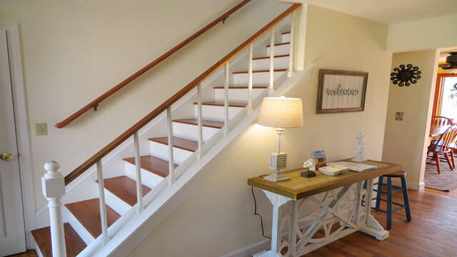 Head upstairs to another living area and a Master Suite-- 138 Soundview Avenue Chatham Cape Cod New England Vacation Rentals
