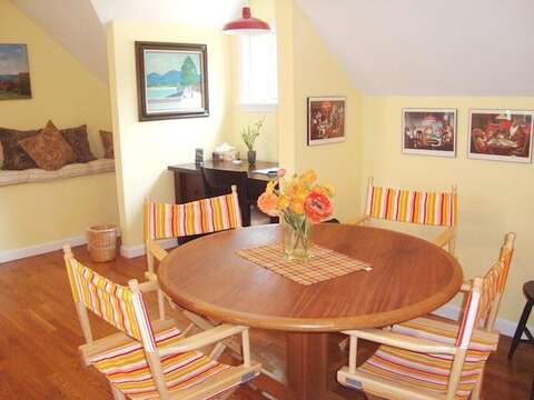 game table and work station on 2nd floor-WIFI - 138 Soundview Avenue Chatham Cape Cod New England Vacation Rentals