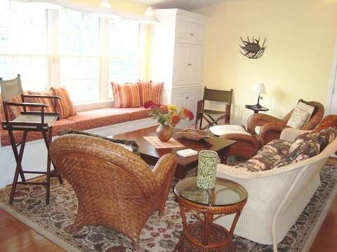 Sitting area off Master bedrm on 2nd floor - 138 Soundview Avenue Chatham Cape Cod New England Vacation Rentals