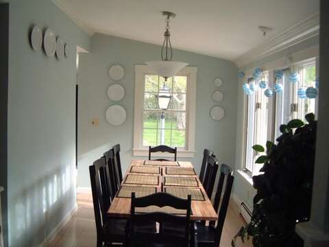 Dining Room - 45 Route 28 West Harwich Cape Cod New England Vacation Rentals