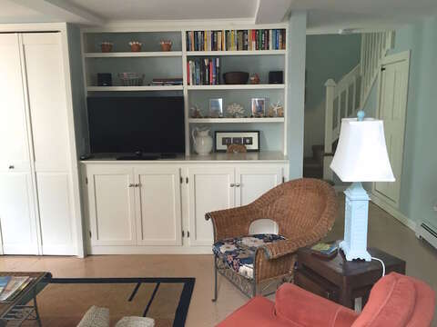 Flat Screen TV - 45 Route 28 West Harwich Cape Cod New England Vacation Rentals