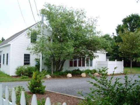 Plenty of parking in driveway- don't forget driveway is shared with Design business - 45 Route 28 West Harwich Cape Cod New England Vacation Rentals