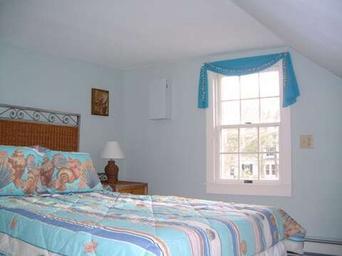 Bedroom #1 with Queen bed - 45 Route 28 West Harwich Cape Cod New England Vacation Rentals