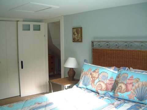 another view of Bedroom #1 with Queen bed - 45 Route 28 West Harwich Cape Cod New England Vacation Rentals