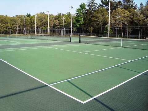 Brooks Park and Public Tennis nearby- Harwich Cape Cod New England Vacation Rentals
