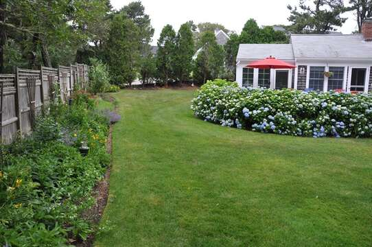 Another view of yard - 58 Longs Lane Chatham Cape Cod New England Vacation Rentals
