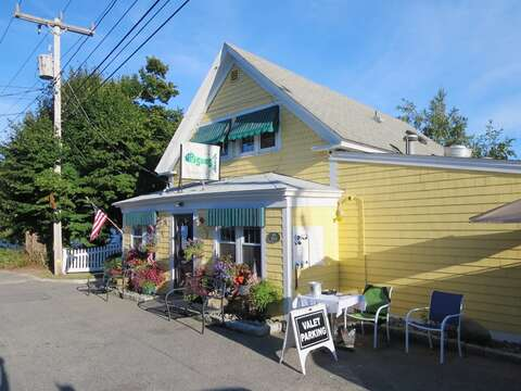 Visit Pisces at the end of Pleasant Street and corner of Rt 28 - A fine dining experience featuring coastal cooking! www.piscesofchatham.com/  - Chatham Cape Cod New England Vacation Rentals