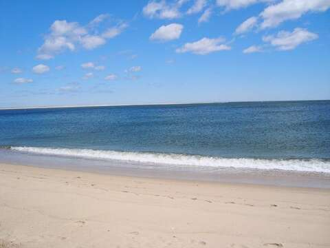 Lighthouse Beach just .3 mile down the street. Can you feel the sand between your toes? - Chatham Cape Cod New England Vacation Rentals