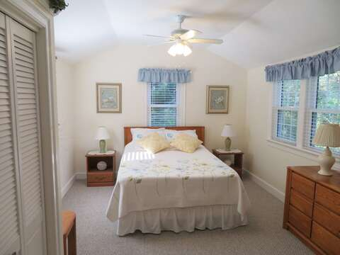 Master Bedroom-Queen size Bed -- 37 Jacqueline Circle West Yarmouth Cape Cod New England Vacation Rentals