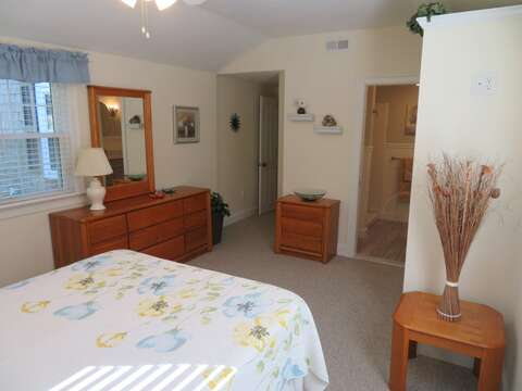 View to hallway and also ensuite bathroom-37 Jacqueline Circle West Yarmouth Cape Cod New England Vacation Rentals