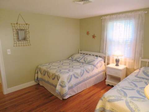 2nd bedroom with double and singe-37 Jacqueline Circle West Yarmouth Cape Cod New England Vacation Rentals