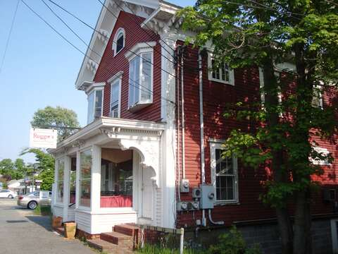 Grab breakfast or lunch at Ruggies in the town center - just .3 mile from the house! - Harwich Cape Cod New England Vacation Rentals