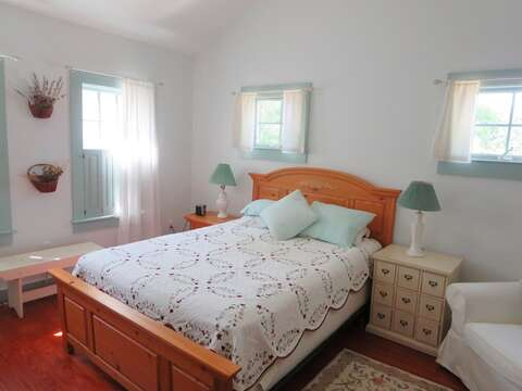 another look at bedroom #1 - 49 Pleasant Lake Avenue Harwich Cape Cod New England Vacation Rentals