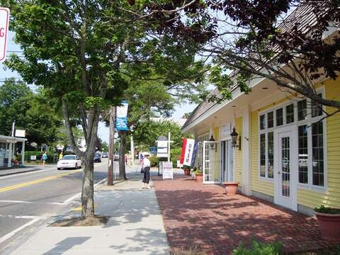 Walk to the village - Harwich Port Cape Cod New England Vacation Rentals