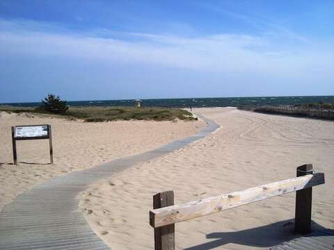 Bank Street Beach just down the road - Harwich Port Cape Cod New England Vacation Rentals