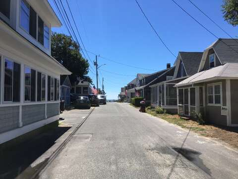 View of Ocean Avenue to  the beach, just a couple of houses away! - Harwich Port Cape Cod New England Vacation Rentals