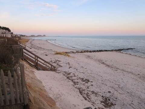 A wonderful beach on Cape Cod called Atlantic Avenue Beach, and you can walk down the end of the road to enjoy it! - Harwich Port Cape Cod New England Vacation Rentals