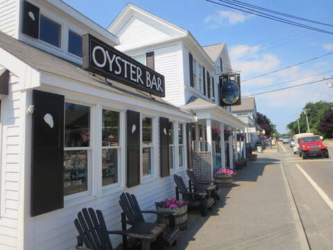 Oysters anyone? Check out dollar oyster happy hour at the Port while strolling the village! - Harwich Port Cape Cod New England Vacation Rentals