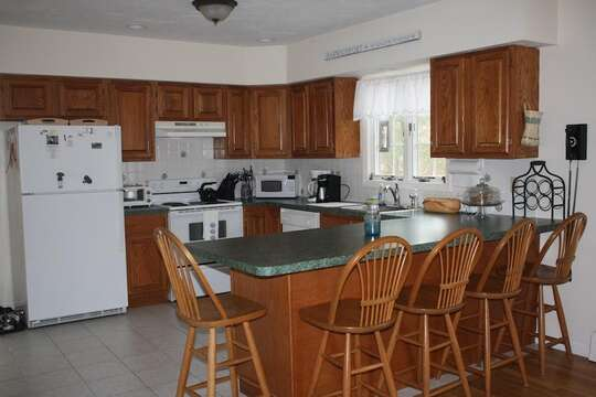 Kitchen - 12 Alonzo Road South Harwich Cape Cod New England Vacation Rentals