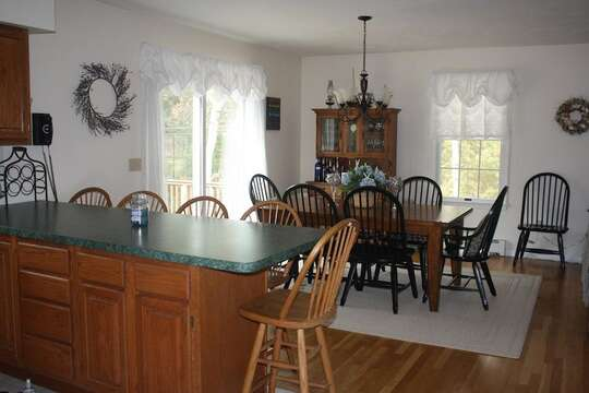 Kitchen/dining area - 12 Alonzo Road South Harwich Cape Cod New England Vacation Rentals