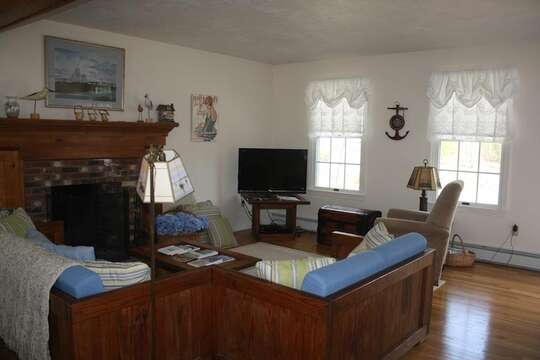 Living area - 12 Alonzo Road South Harwich Cape Cod New England Vacation Rentals