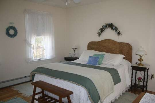 Bedroom #1 with Queen bed - 12 Alonzo Road South Harwich Cape Cod New England Vacation Rentals