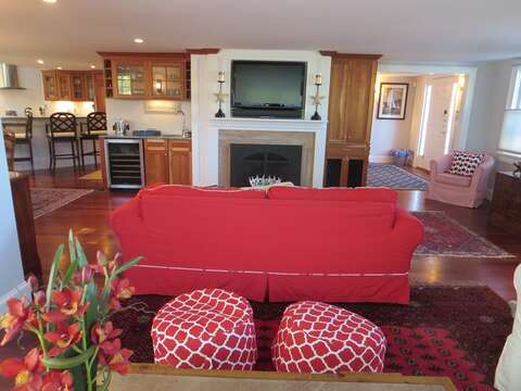 Another look from 2nd seating area in living room - 14 Hallett Lane Chatham Cape Cod New England Vacation Rentals