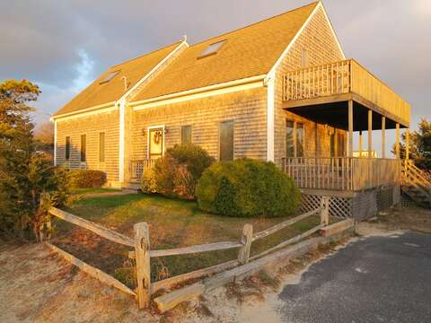 17 Uncle Venies at sunset - 17 Uncle Venies South Harwich Cape Cod New England Vacation Rentals