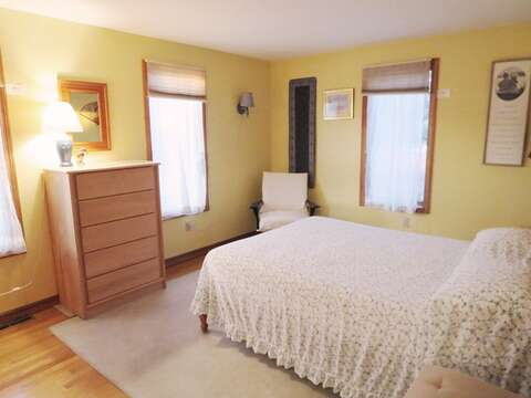 1st floor bedroom with a queen bed - 17 Uncle Venies South Harwich Cape Cod New England Vacation Rentals