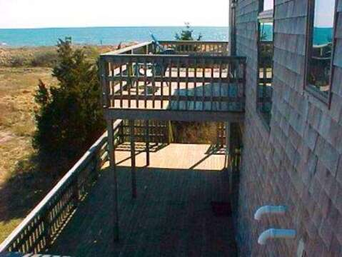 View from the balcony - 17 Uncle Venies South Harwich Cape Cod New England Vacation Rentals