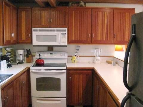 Galley kitchen with dishwasher - 28 Sears Point Road Chatham Cape Cod New England Vacation Rentals