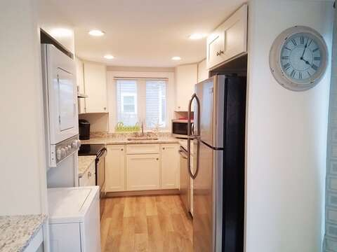 Completely updated kitchen with granite counter tops - 15 Oyster Drive Chatham Cape Cod New England Vacation Rentals