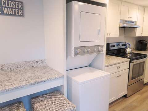 Washer and Dryer for your convenience. 1st floor - 15 Oyster Drive Chatham Cape Cod New England Vacation Rentals