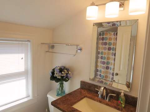 Bathroom #2 on the 2nd floor - 15 Oyster Drive Chatham Cape Cod New England Vacation Rentals