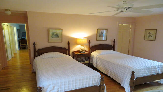 Bedroom 2 also has an ensuite bath-Waterfront North Chatham Cape Cod New England Vacation Rentals