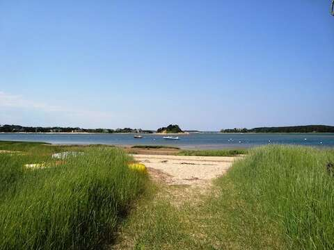 Association beach just a walk away - North Chatham Cape Cod New England Vacation Rentals