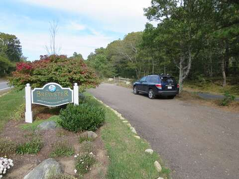Free parking at the rail trail - Brewster Cape Cod New England Vacation Rentals
