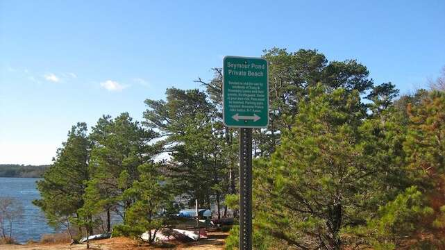 2 Minute walk to the Popular Seymour Pond - Brewster Cape Cod New England Vacation Rentals