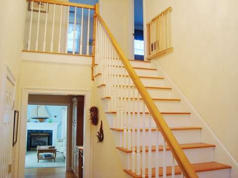Stairs to 2nd floor - 118 Deep Hole Road South Harwich Cape Cod New England Vacation Rentals