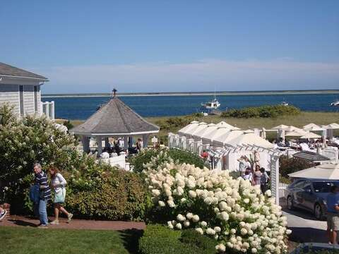 Chatham Bars Inn Beach Bar, less than a mile from the house! - Chatham Cape Cod New England Vacation Rentals