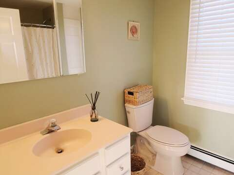En suite bathroom to the Master on the 2nd floor  - 19 Bob White Lane South Harwich Cape Cod New England Vacation Rentals