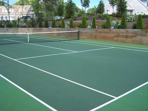 community tennis  - 2 Captains Row E Chatham Cape Cod New England Vacation Rentals